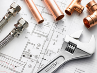 اجراء تاسیسات مکانیکی و برق ساختمان